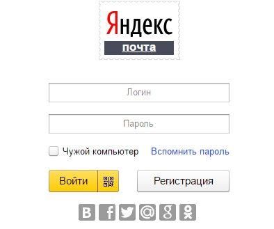 Почта Яндекса