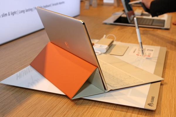 Внешний вид Huawei MateBook HZ-W09 128G Gold