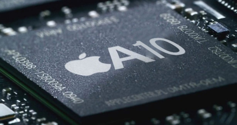 В телефонах стоит процессор A10