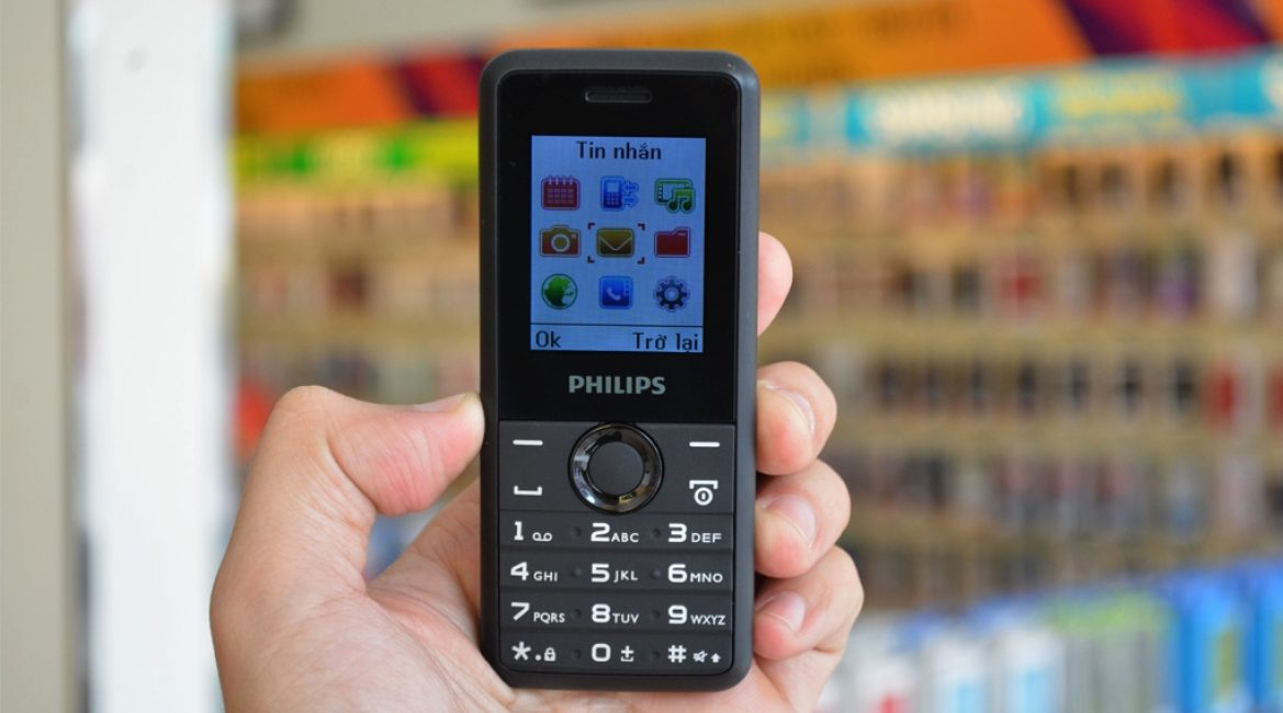 Телефон Philips E103