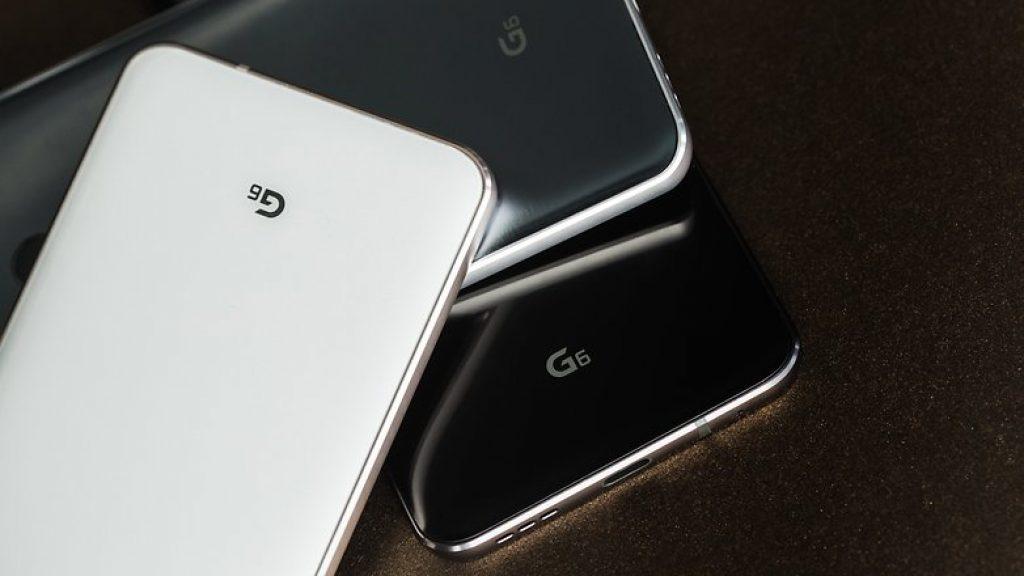Цветовая гамма LG G6