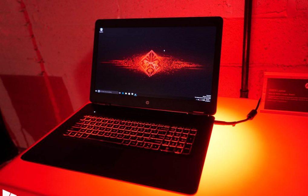 Игровой ноутбук HPOmen 17
