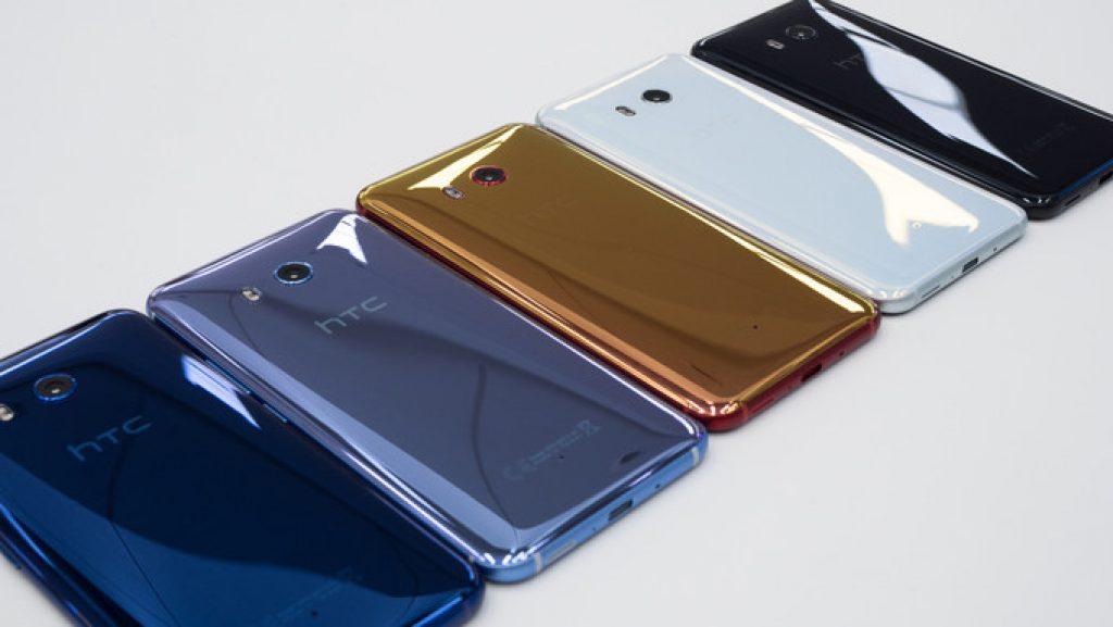 Цветовая гамма HTC U11