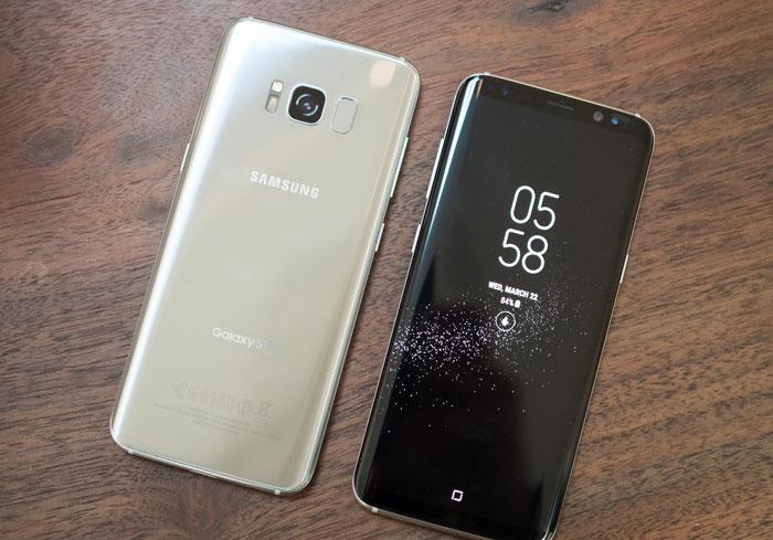 Общий вид Samsung Galaxy S8