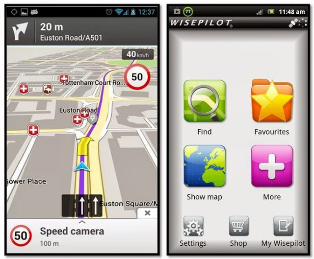 Навигатор Wisepilot-GPS Navigator