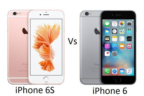 Преимущества iPhone 6s перед 6