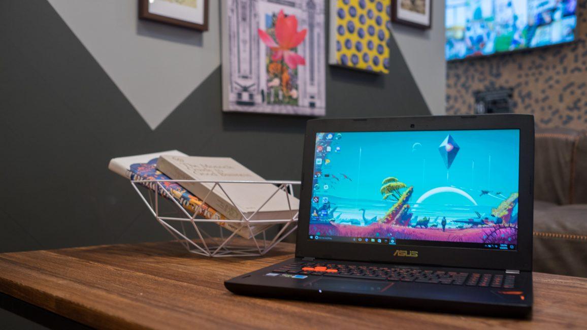 Игровой ноутбук ASUSROGStrixGL502