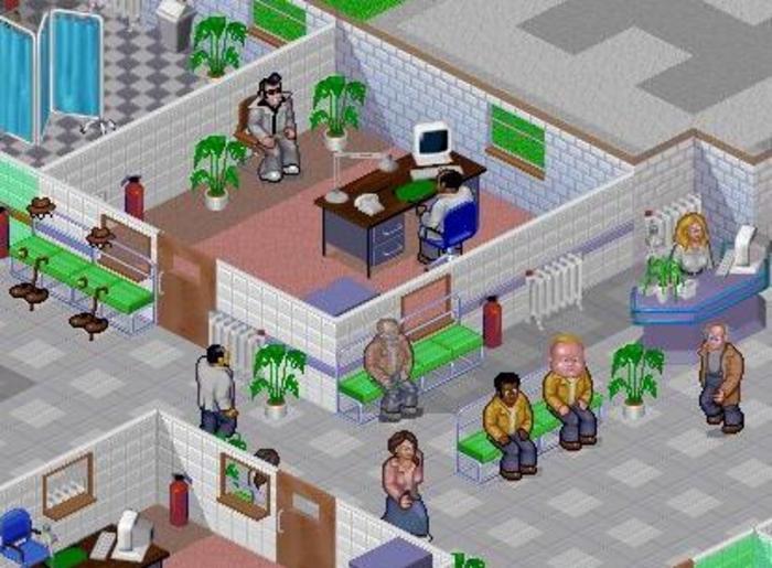 Игра Theme Hospital