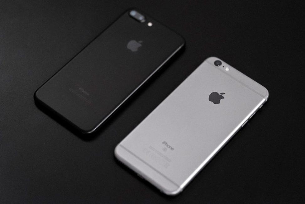 В чем отличия iPhone 7 от iPhone 7+