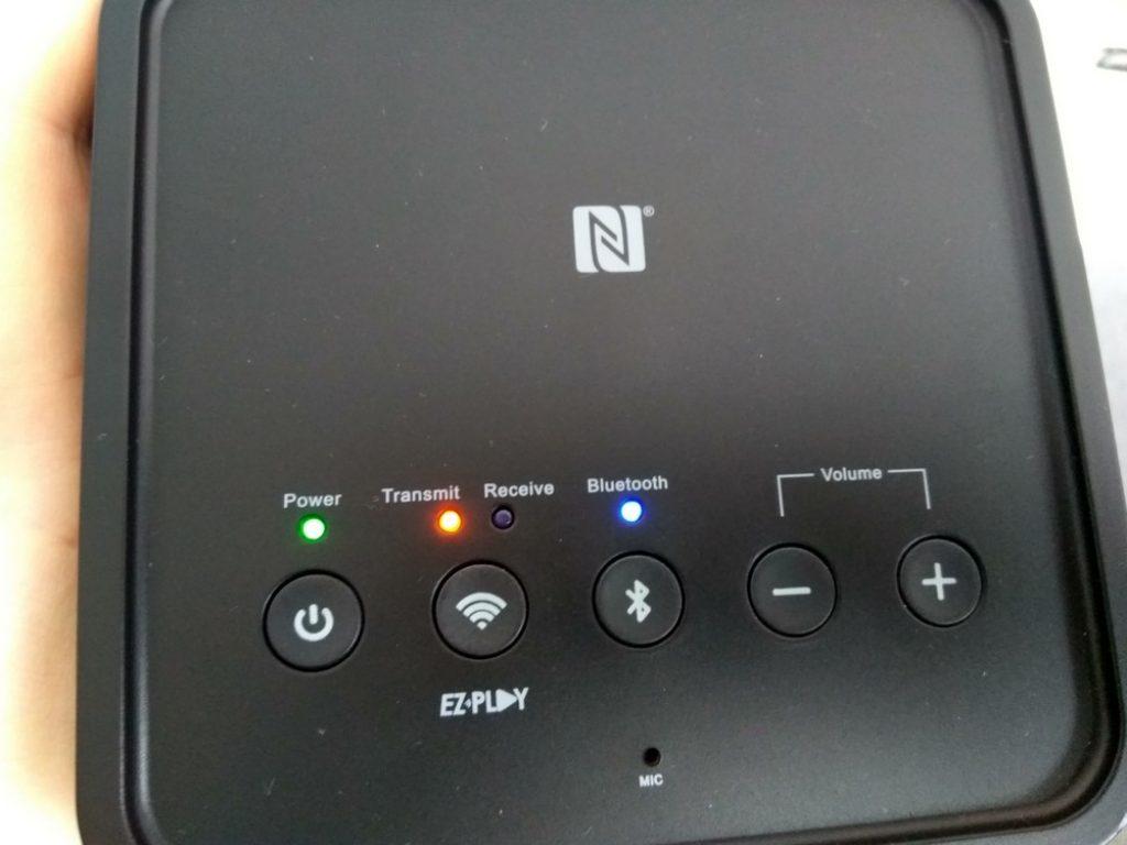 5 кнопок управления