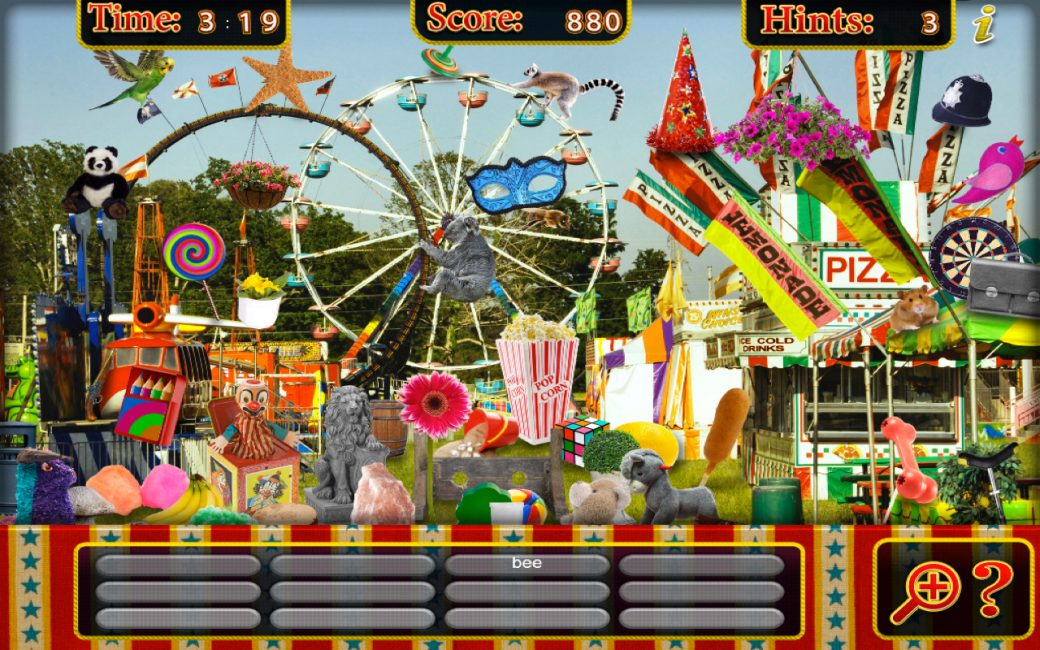 Игра Hidden Objects – Circus