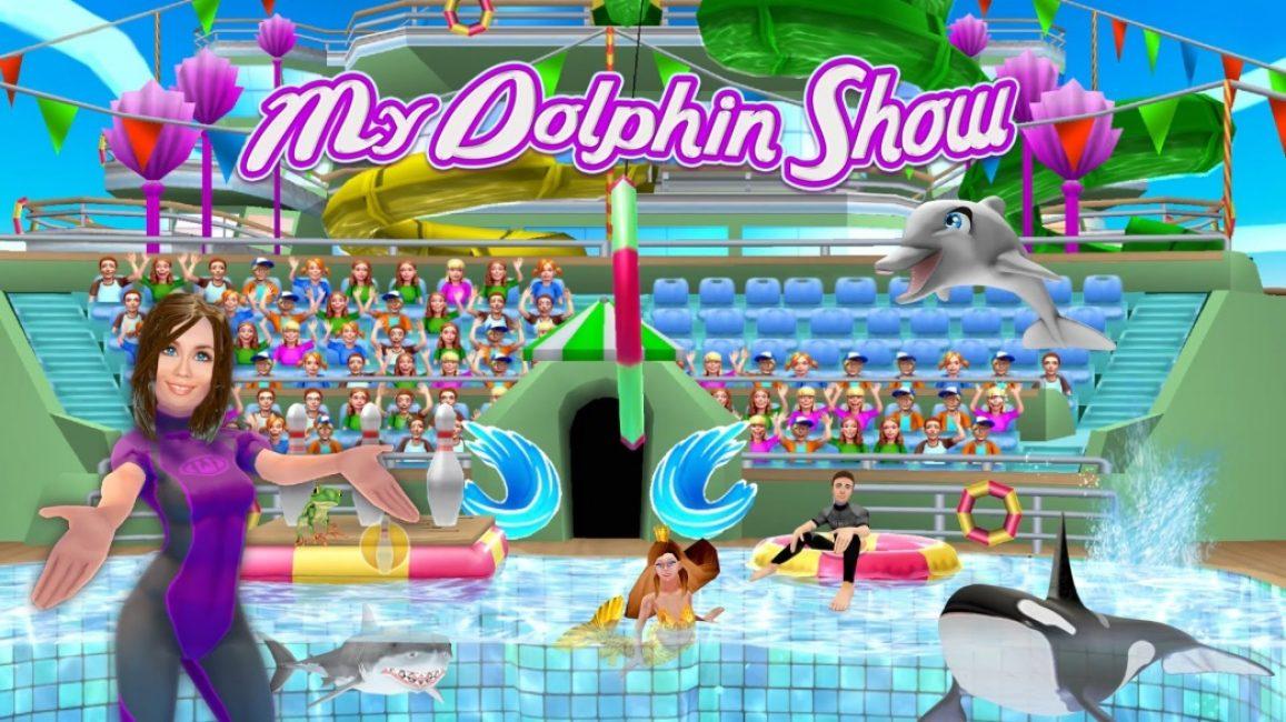 Дельфины шоу