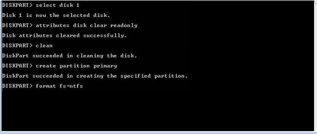 Командный интерпретатор Diskpart