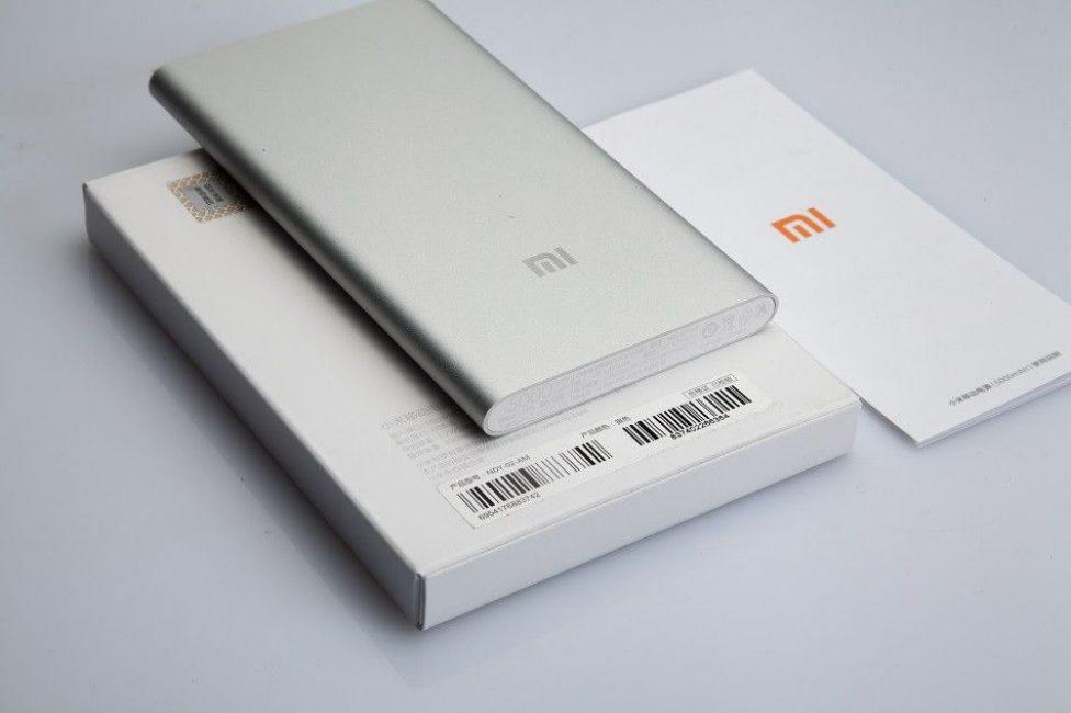 Комплектация Mi Power Bank 2