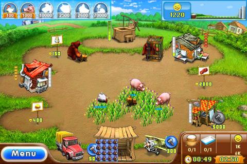 Игра Веселая ферма (Farm Frenzy)