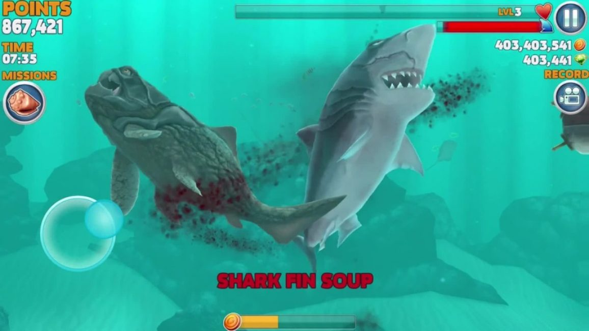 """Кадр из """"Голодная акула"""""""