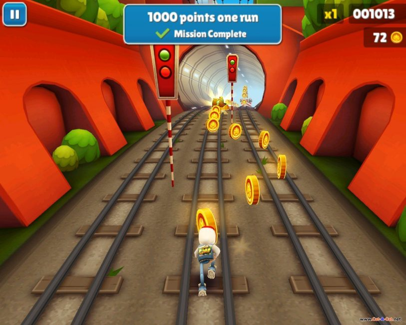 Скрин Subway Surfers Online-Dash
