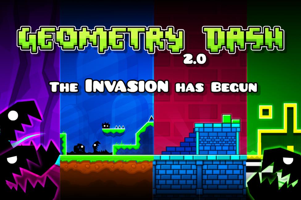 Игра Geometry Dash