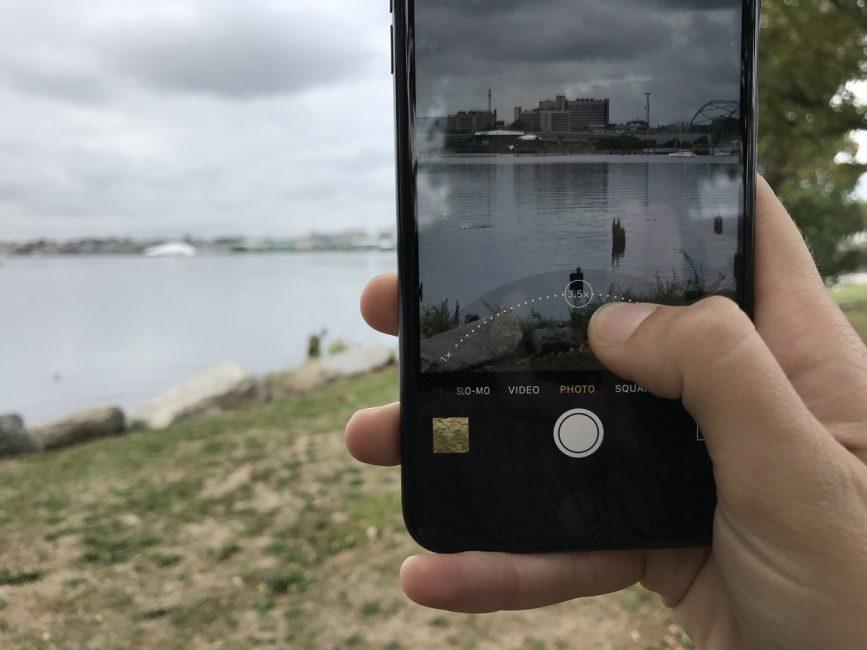 Камера на iPhone 7