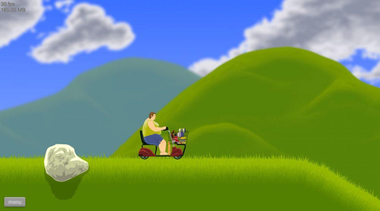 """Пример уровня """"Счастливые колеса"""""""