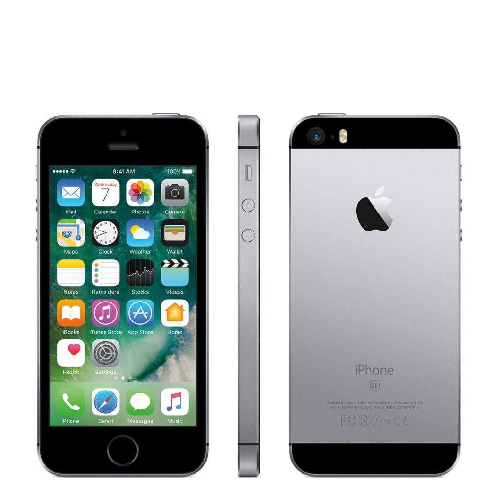 Общий вид iPhone SE