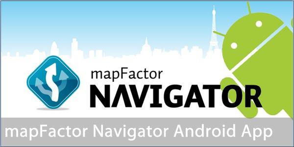 Навигатор MapFactor: GPS Navigation