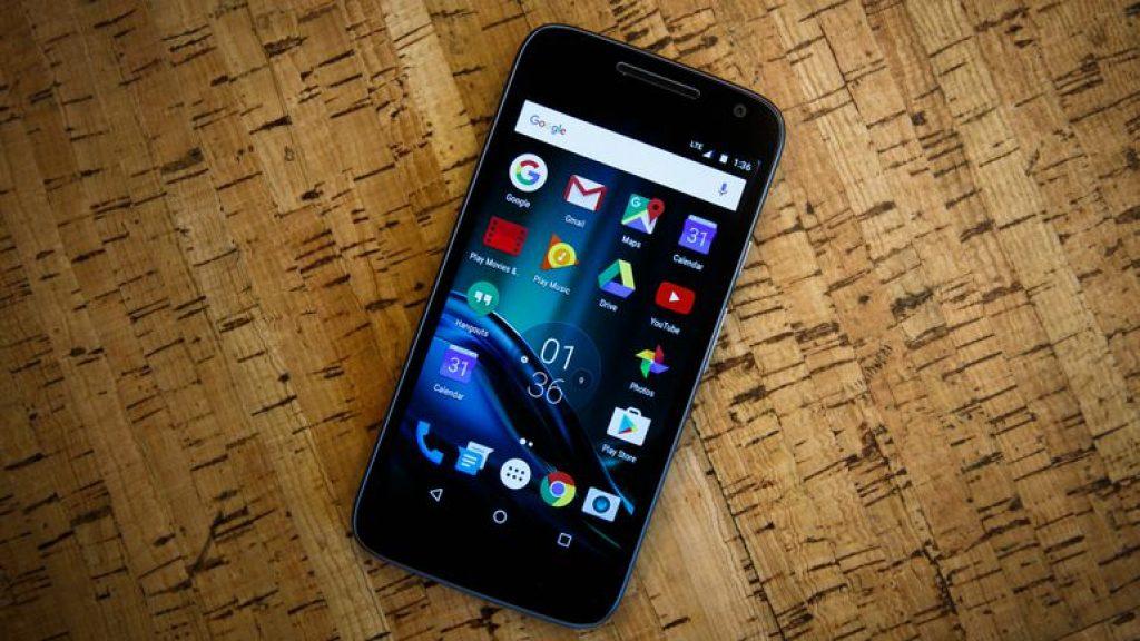 Стильный и элегантный Motorola Moto G4 Play