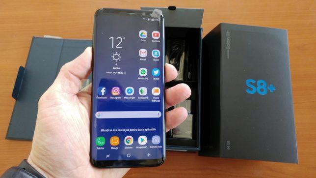 Общий вид Samsung Galaxy S8+