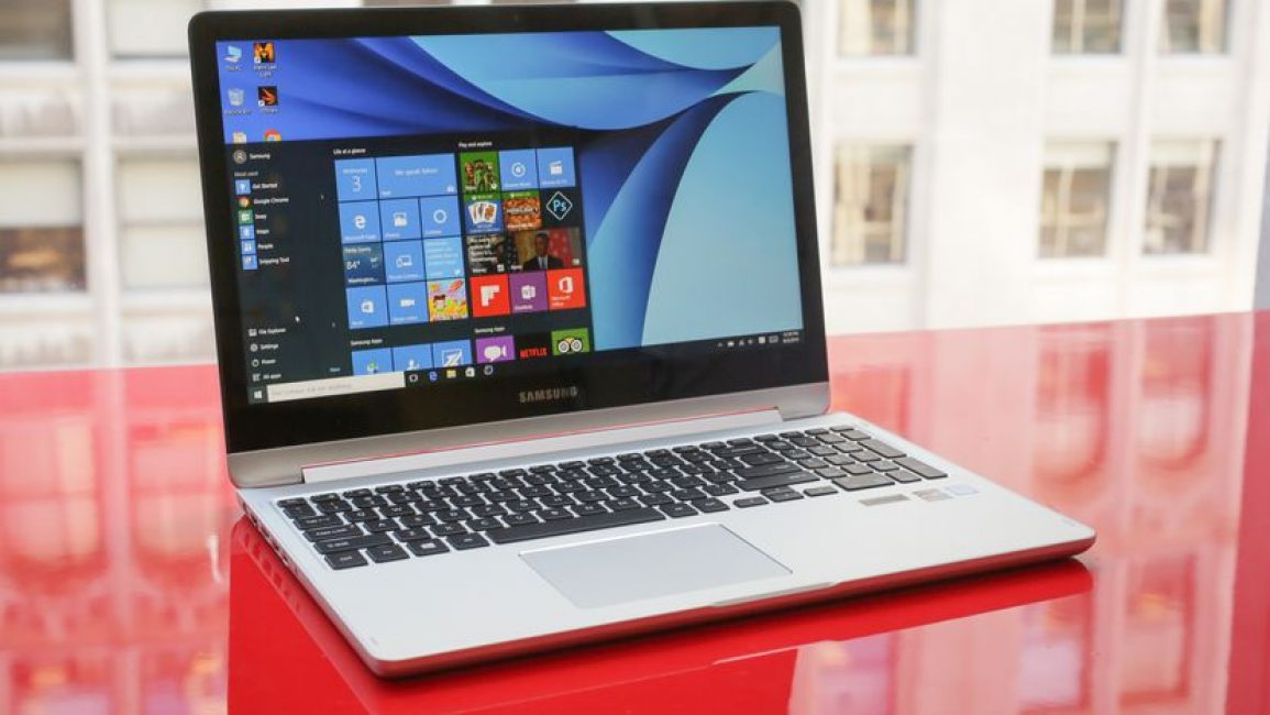 Стильный Samsung Notebook 7 Spin