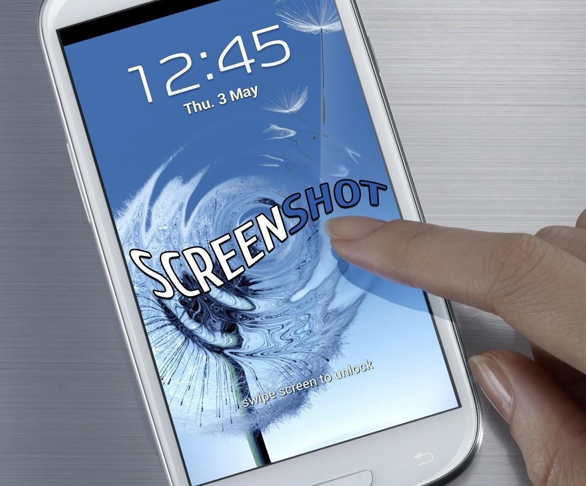 Как сделать экрана на самсунг галакси 3