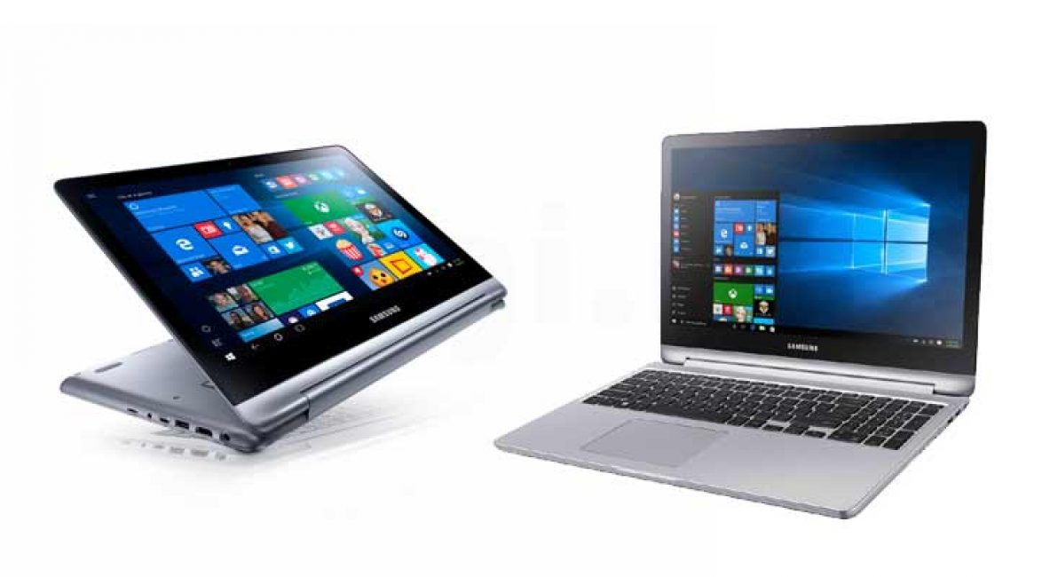 Дизайн Samsung Notebook 7 Spin