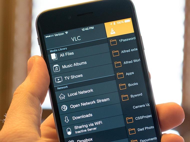 Приложение VLC на вашем айфоне