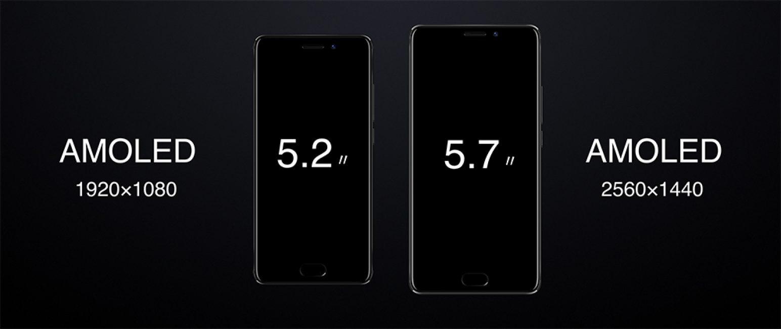 Отличия размеров экрана
