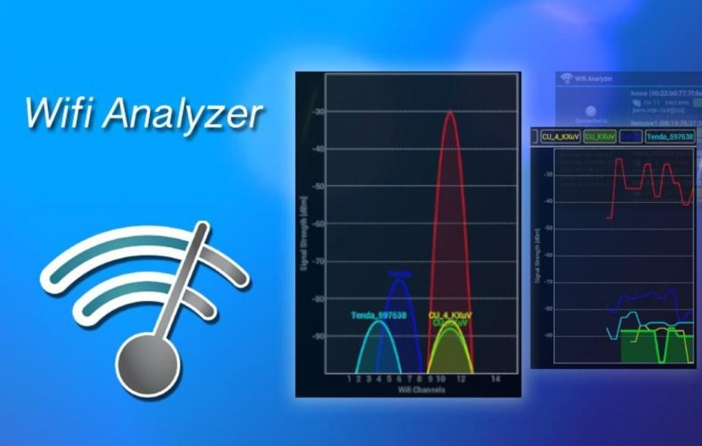 Wifi analyzer для windows