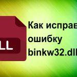 Имправляем ошибку binkw32.dll
