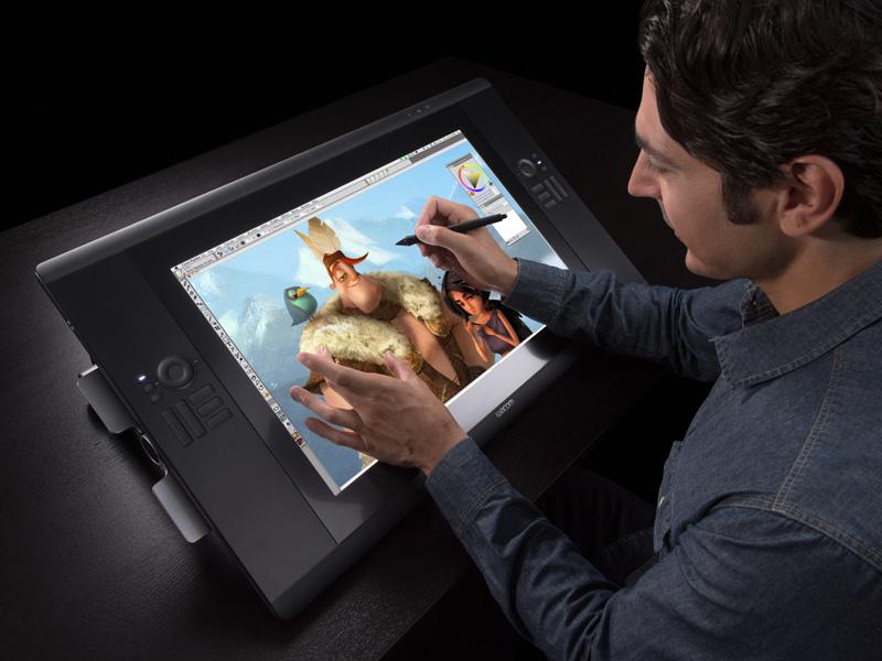 Графический планшет с экраном