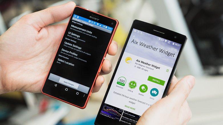 Передача приложений при помощи NFC