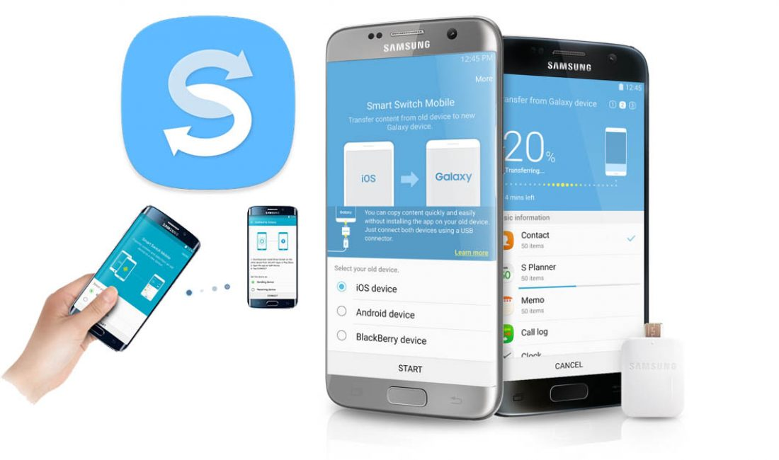 Программа Smart Switch от Samsung