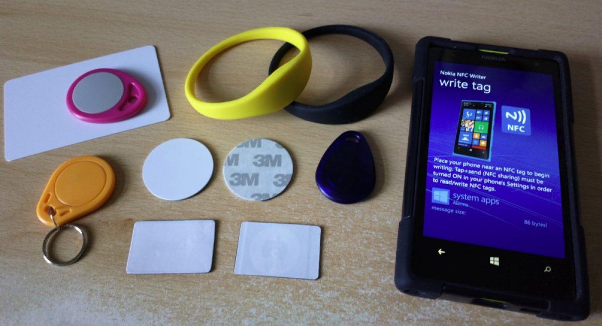 Сфера применения NFC
