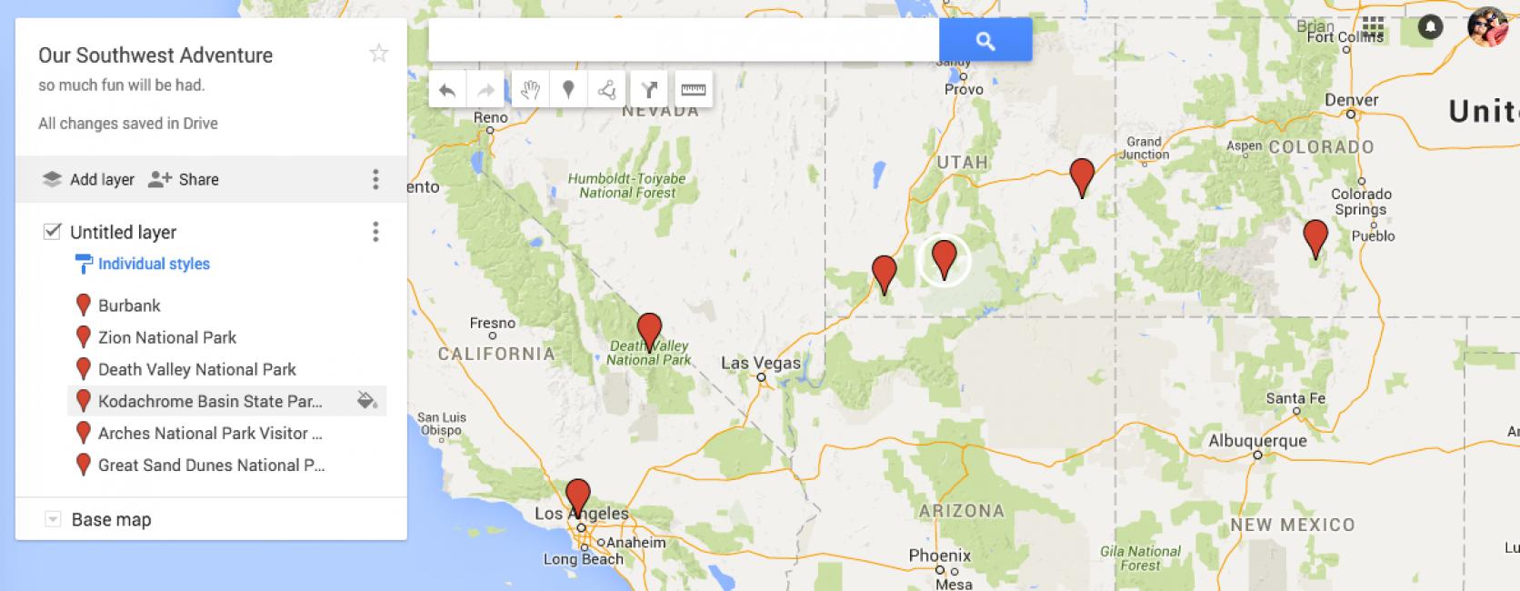Гугл карта