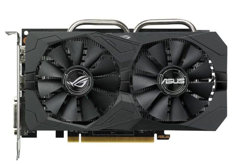 Видеокарта ASUS ROG STRIX Radeon RX 560 OC
