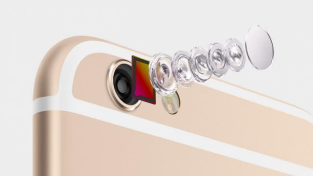 6 линз в камере iPhone 6