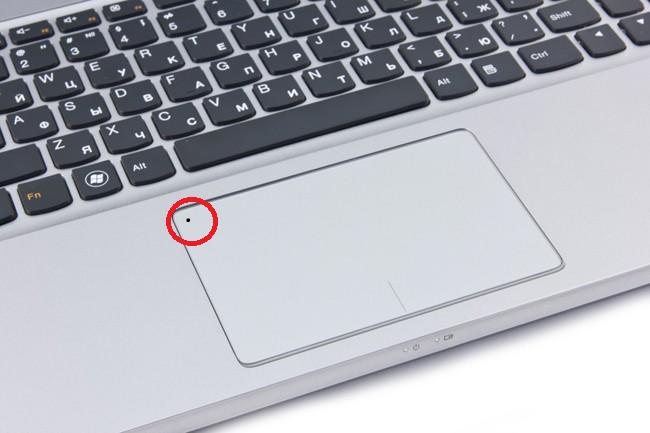 Тачпад ноутбука фирмы Нр