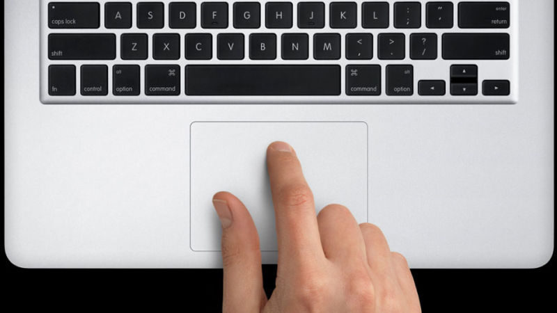 Тачпад ноутбука фирмы Microsoft