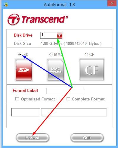 апуск форматирования с помощью AutoFormat Tool