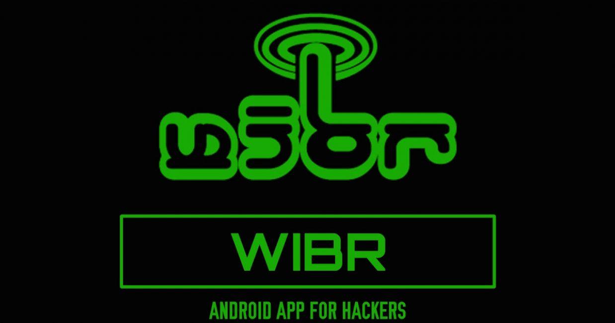 Приложение WIBR для мобильных аппаратов. Внешний вид