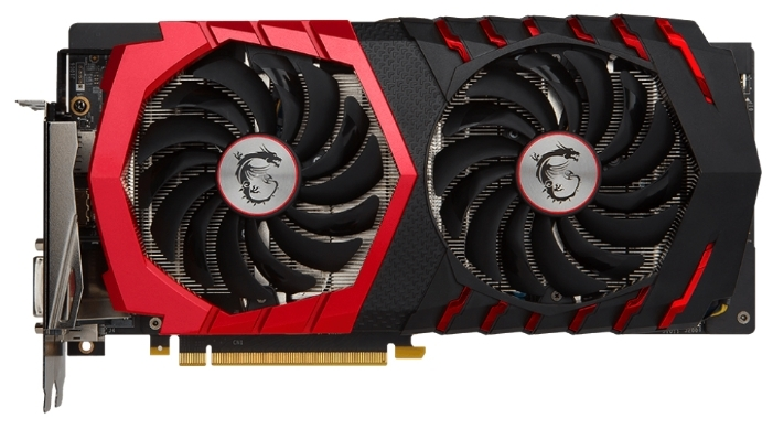 Видеоадаптер MSI GeForce GTX 1060 GAMING X 3G
