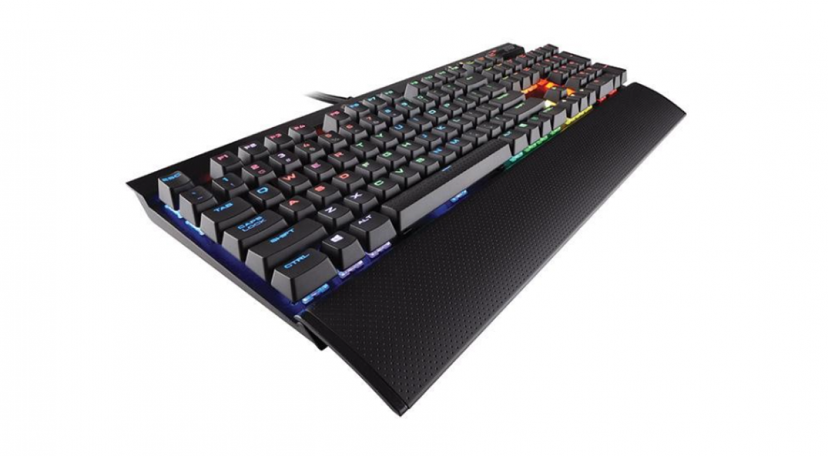 Corsair K70 LUX RGB Mechanical Gaming Cherry MX RGB Brown (CH-9101012-NA)