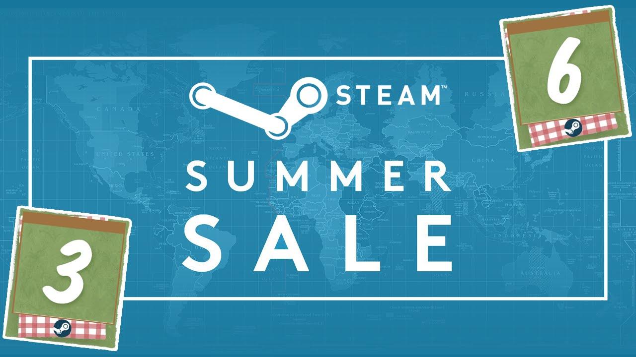 Летние карточки можно получить на летней распродаже Steam