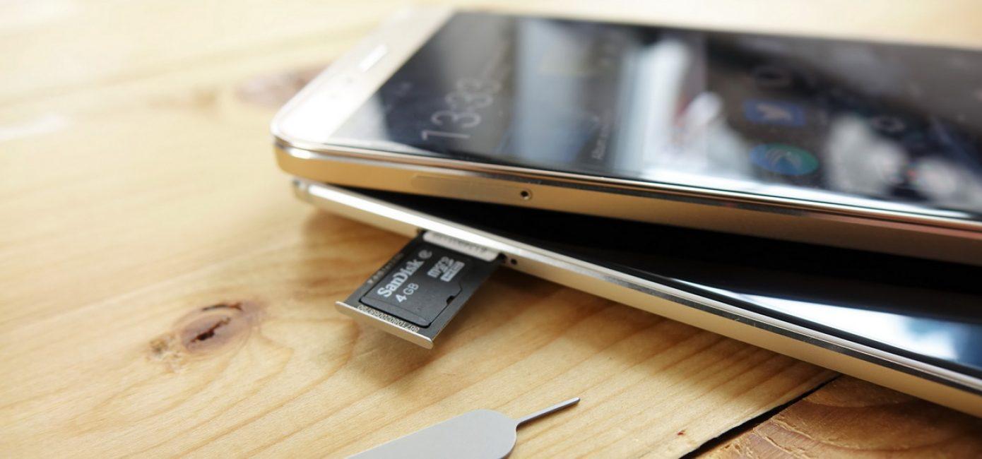 Cимка и карточка памяти - Как установить в один слот?